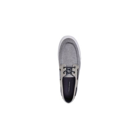 b1a22a3c Tommy Hilfiger Mens Phinx Fabric Closed Toe Boat Shoes - image 1 of 2 ...