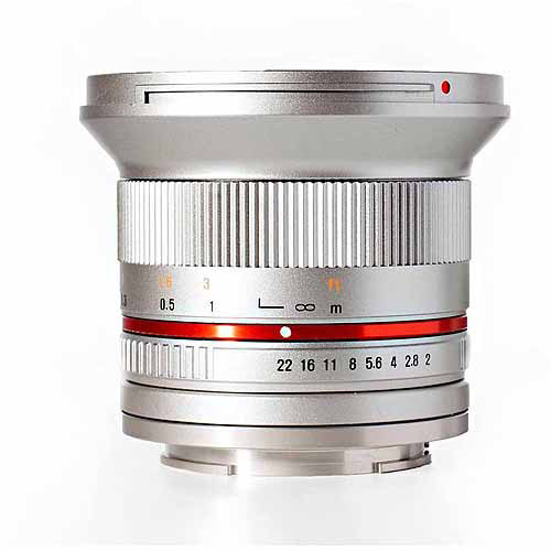 ROKINON RK12M-FX-SIL 12mm f/2.0 Ultra-Wide-Angle Lens