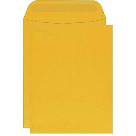- 10 X 13 Catalog Envelopes - Brown Kraft 28lb. Big Envelopes-open Side Envelopes - 50 Per Pack