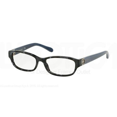 Tory Burch Eyeglasses Ty 2055 1475 Navy Tweed Blue 53Mm