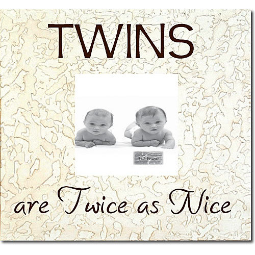 Forest Creations Twins Are Twice As Nice Picture Frame