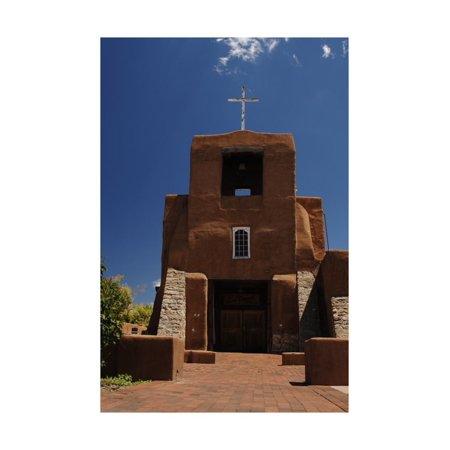 United States, Santa Fe, San Miguel Mission, 17th-18th Centuries Print Wall - Miguel Torres Santa