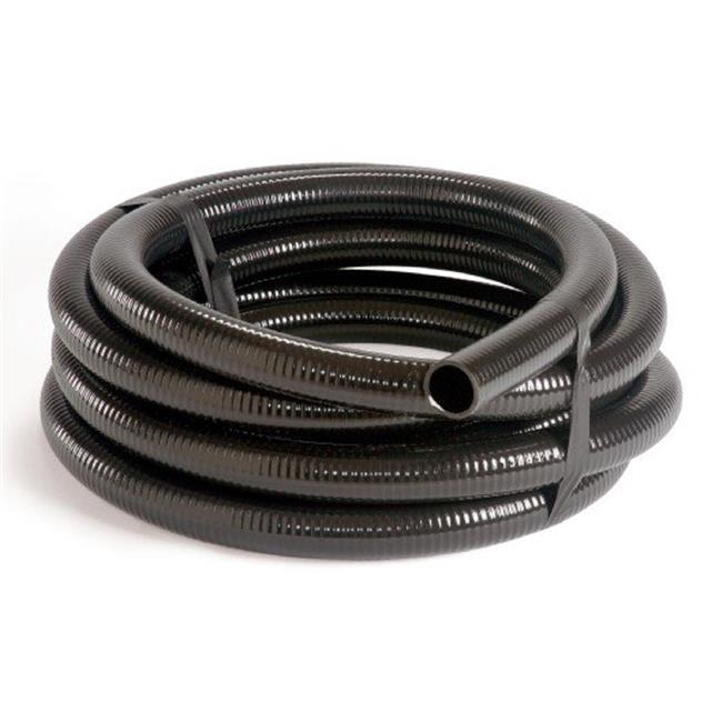 Atlantic Water Gardens FH1525 PVC Black Flex Pipe 1. 5 Inch x 25 Feet