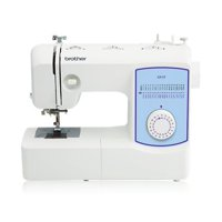 Brother GX37 Lightweight, Full-Featured Sewing Machine with 37 Built-In Stitches & 1-Step Auto-Size Buttonhole, 1 Each