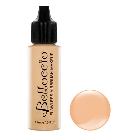 New Belloccio Pro Airbrush Makeup BEIGE SHADE FOUNDATION Flawless Face Cosmetics - Halloween Tiger Face Makeup