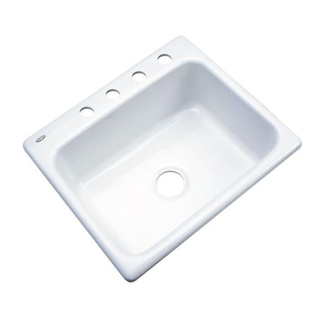 Thermocast 22400 Inverness Cast Acrylic Single Bowl Kitchen Sink ...