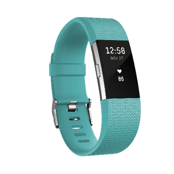 ALL COLORS Fitbit Charge 2 HR Heart Rate Monitor Fitness Wristband Tracker