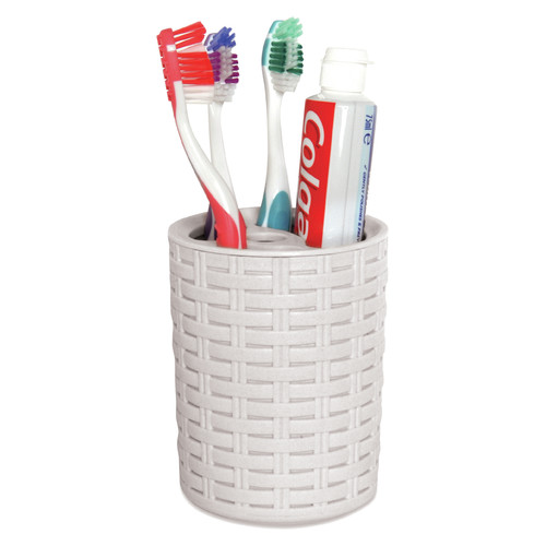 Joseph Joseph  Caddy//Razor//Toothbrush Holder  Gray//White  ABS
