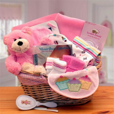 Gift basket 890573-P Simply The Baby Basics New Baby Gift Basket
