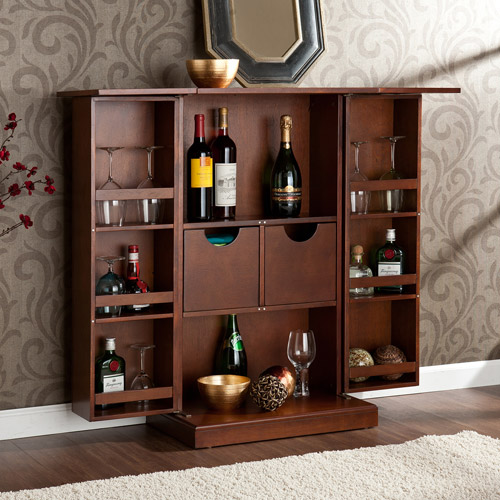 Hampton Fold-Up Bar Server, Multiple Finishes