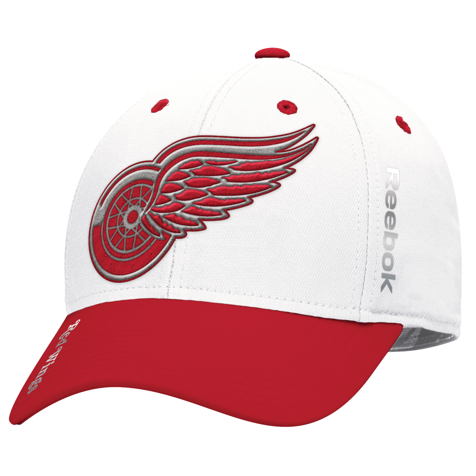 Detroit Red Wings Reebok 2017 Centennial Classic Coaches Structured Flex Hat - Red