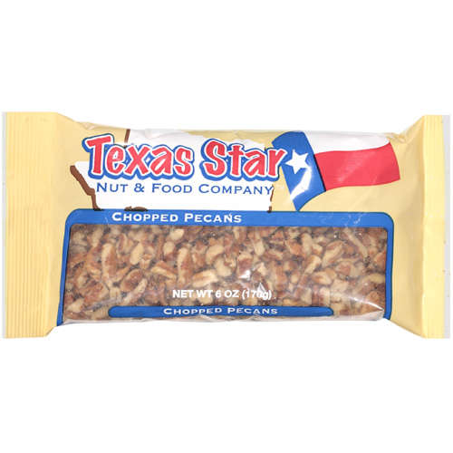 Texas Star: Chopped Pecans, 6 Oz