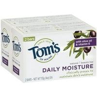 Tom's of Maine™ Daily Moisture Beauty Bar 2-4 oz. Bars