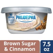 Philadelphia Brown Sugar Cream Cheese Spread, 7.5 oz Tub