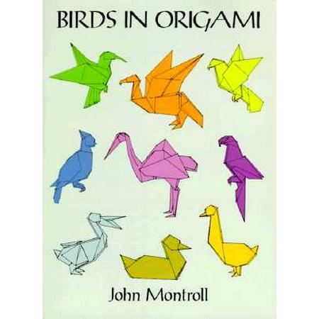 Birds in Origami (Halloween Origami)