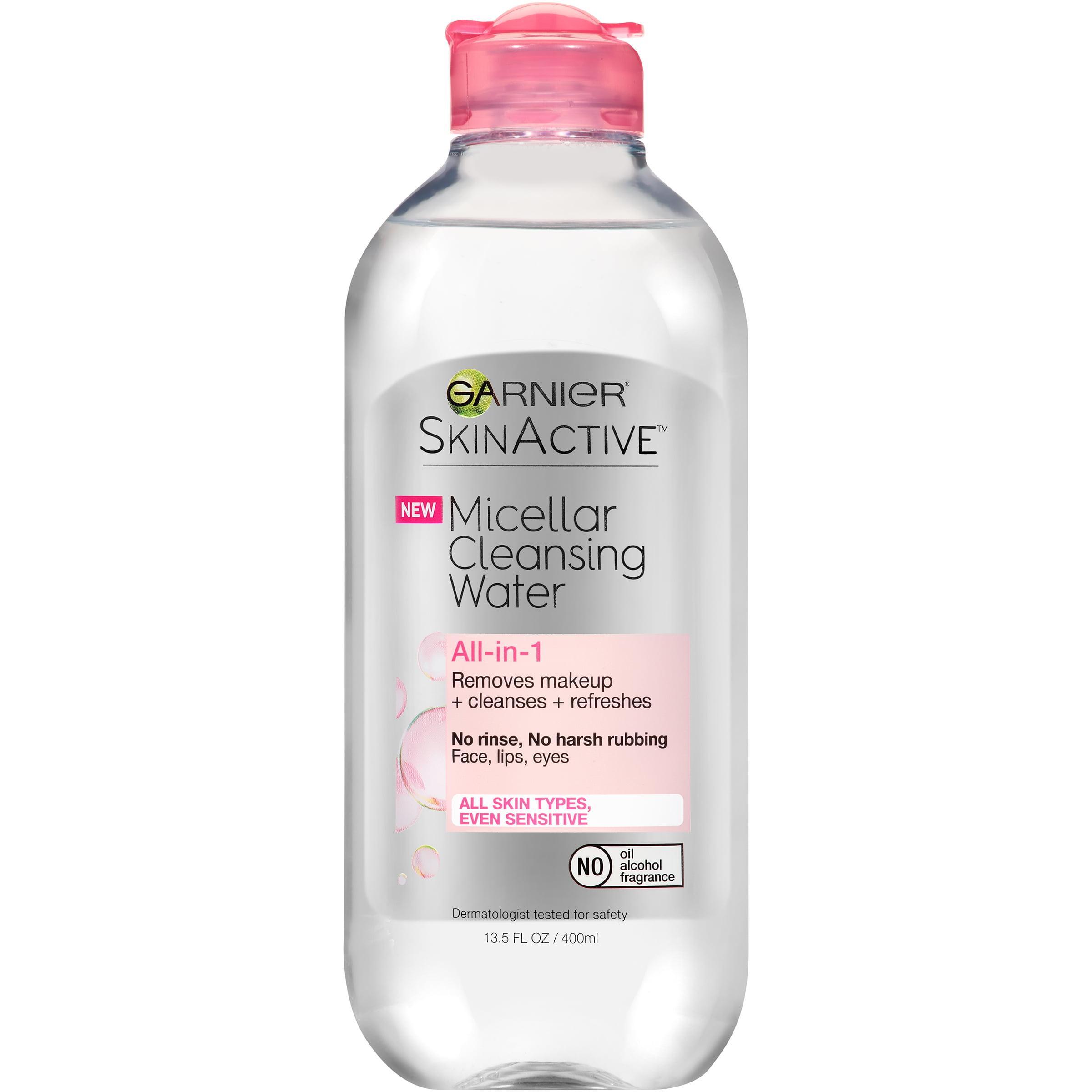 Garnier Skin Active Micellar Cleansing Water 13.5 fl. oz. Bottle