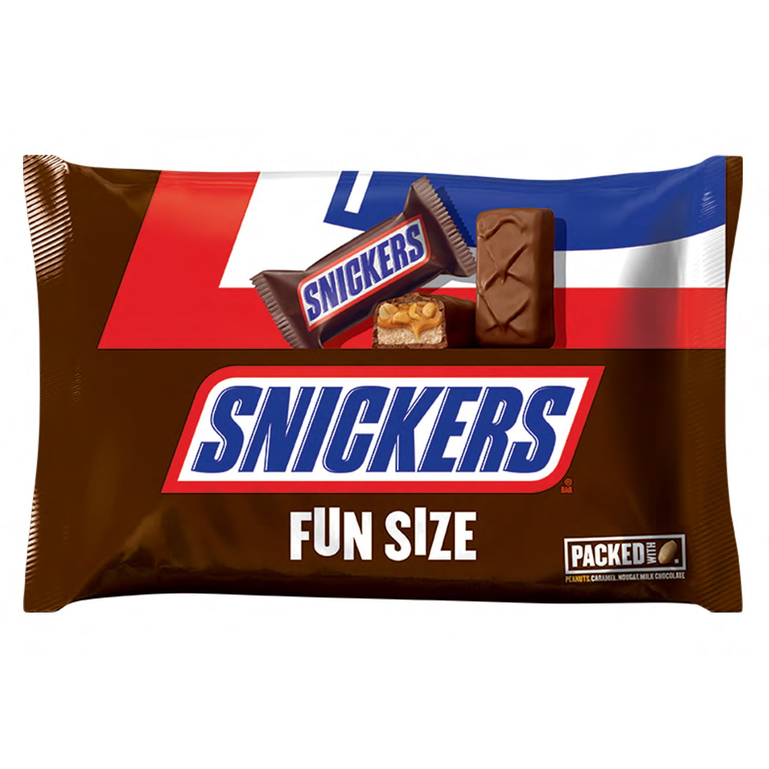 Snickers Fun Size Chocolate Candy Bars, 10.59 Oz.