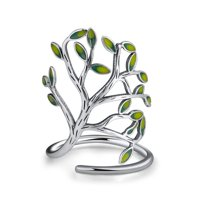 Tree of Life Leaf Branch Wrap Ring  Luxury Collection Ginger Lyne Collection