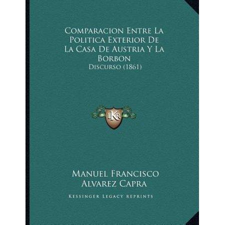 Comparacion Entre La Politica Exterior de La Casa de Austria y La Borbon : Discurso