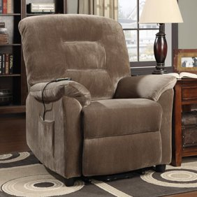 Mega Motion Classica Power Lift Chair Recliner Charcoal (curbside delivery)