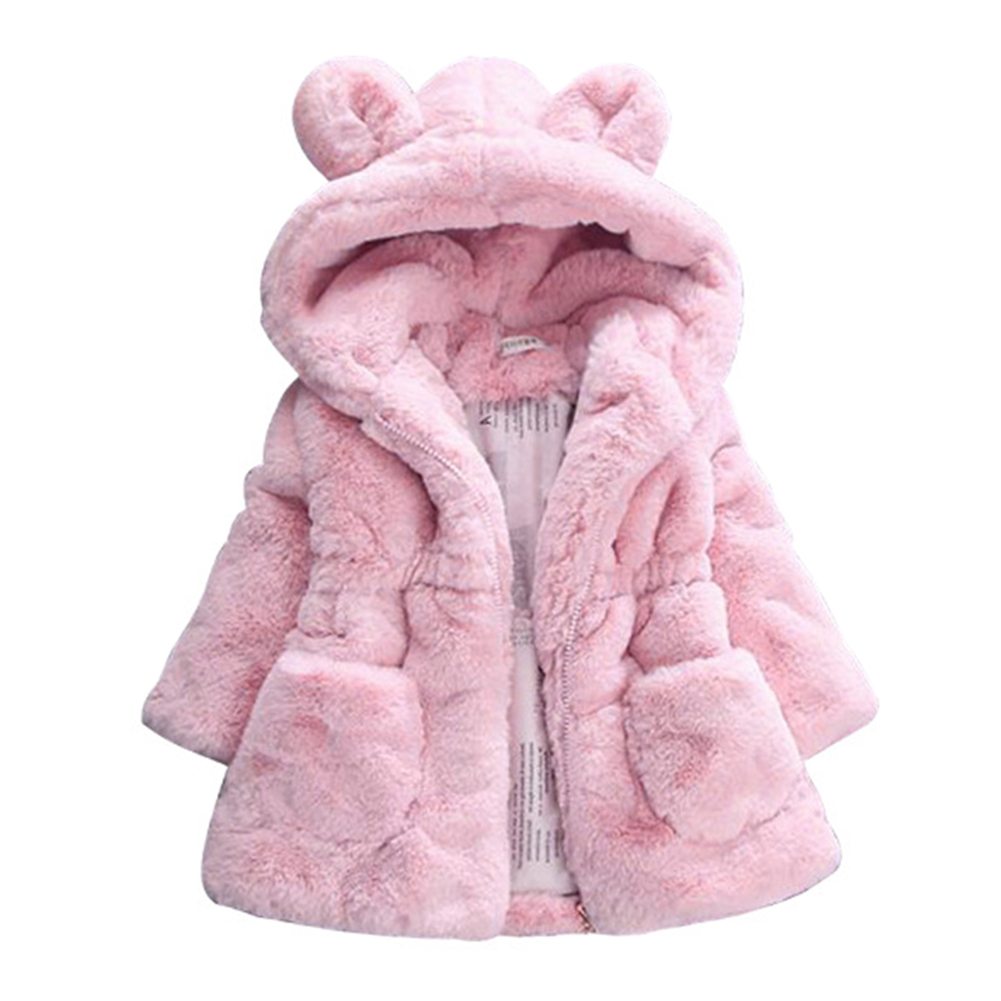 3fc09aa6e Redcolourful - Winter Baby Kid Girls Jackets Cute Bunny Ear Warm ...