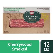 Hormel Natural Choice Cherrywood Smoked Uncured Bacon, 12 Oz.