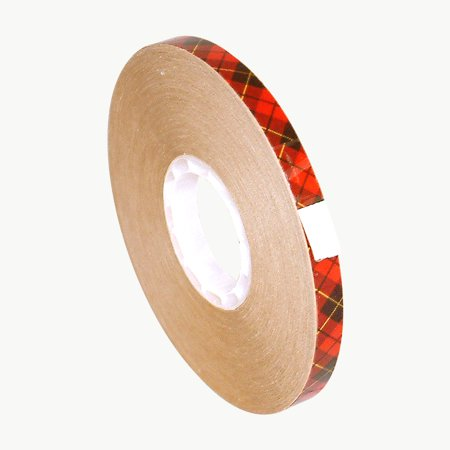 3M Scotch 924 ATG Tape: 1/4 in. x 36 yds. (Clear Adhesive on Tan (3m Scotch Adhesive)