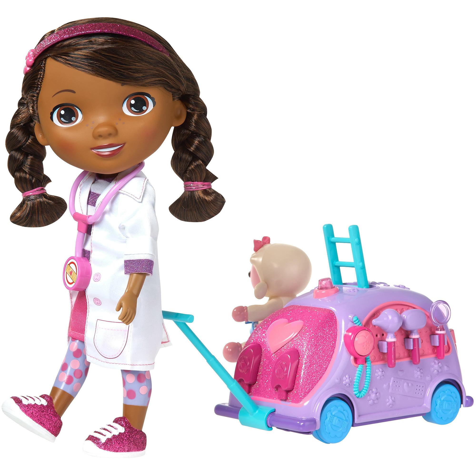 Doc Mcstuffins Toys : Doc mcstuffins pet vet doctor s bag set walmart