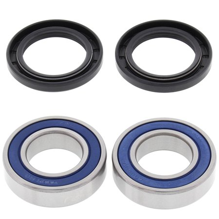 Level Bearings - 25-1273 Rear Wheel Bearing Kit, All Balls High-Speed bearings are manufactured to ABEC 3 precision levels By All Balls