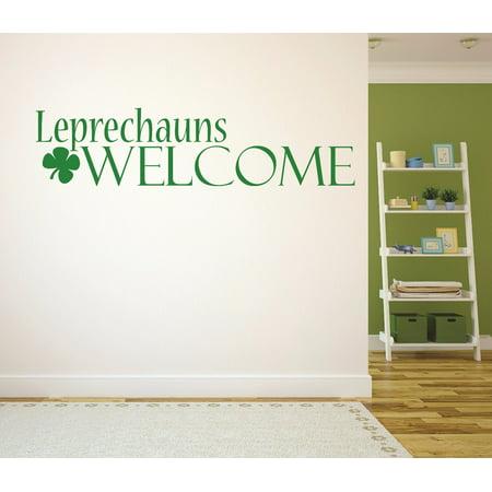 New Wall Ideas Leprechauns Welcome Irish St. Patricks Day Holiday - Leprechaun Trap Ideas
