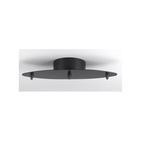 Cal Lighting CP-3L-LOW Low Voltage 3 Light Canopy with Transformer