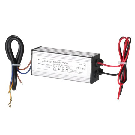 50W LED Constant Current Driver Power Supply Adapter Transformer Switch for Square Lights Warehouse Lights LED Street Light Flood Lights Street Lamp LED Spotlight IP66 Water Resistant AC85~265V DC25~4 - image 7 of 7