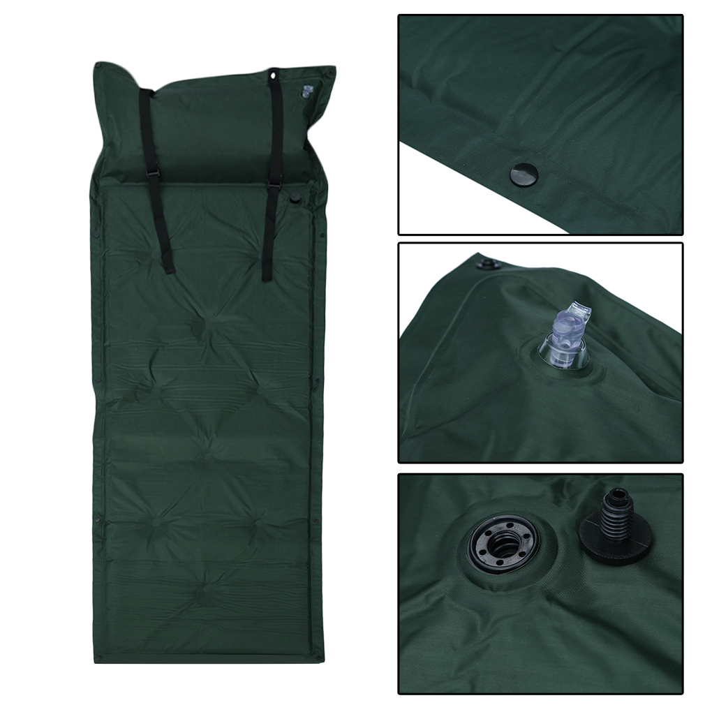 Waterproof Light Weight Self-Inflating Sleeping Pad for Camping Inflatable Backpacking Sleeping Pad, Purple