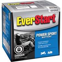 EverStart Lead Acid PowerSport Battery, Group Size ES-12AA