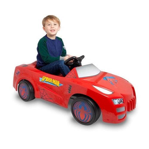 TT Toys Spiderman 6V Battery Powered  Car