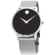Movado Museum Classic Quartz Movement Black Dial Men's Watch 0607219