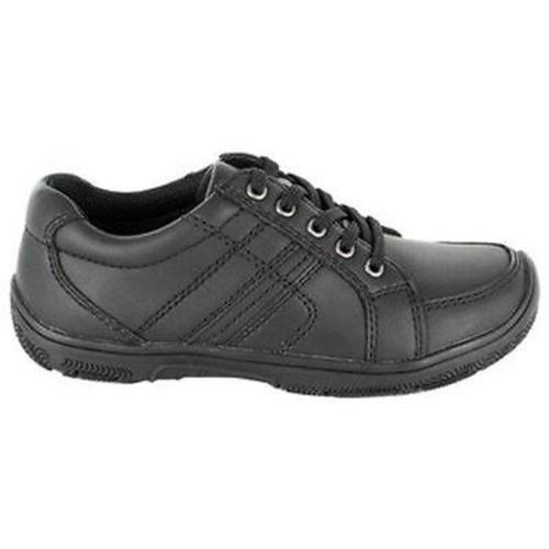 Stacy Adams CUBBY Boys Black Casual Lace Up Comfort School Oxford Shoe (7) by