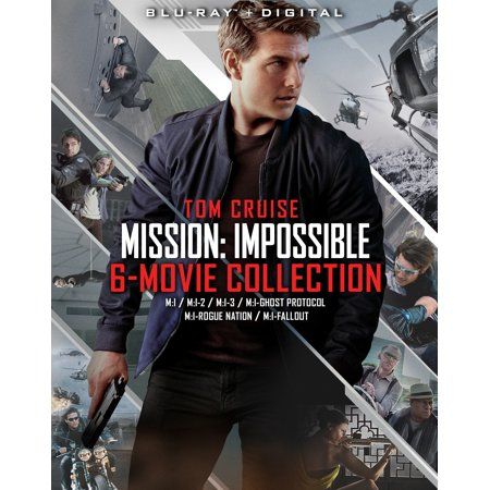 - Mission: Impossible 6 Movie Collection (Blu-ray)