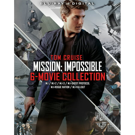 Mission: Impossible 6 Movie Collection (Blu-ray) - Halloween Movie Series Box Set