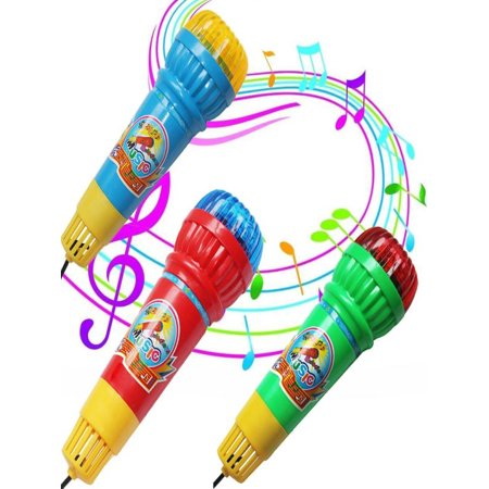 Echo Microphone Mic Voice Changer Toy Gift Birthday Present Kids Party Song Gift Toy - Kids Echo Microphone