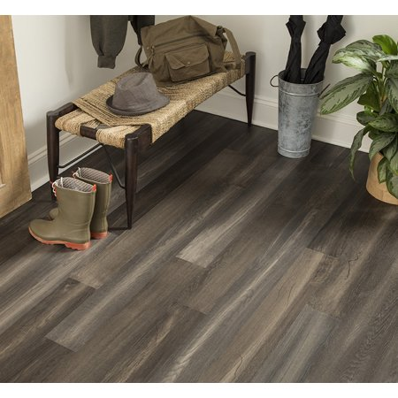 Midnight Mesa 6.5 mm Thickness x 5.12 in. Width x 48.03 in. Length Water Resistant Engineered Wood Flooring (15.36 sq. ft. / (Pine Solid Hardwood Flooring)