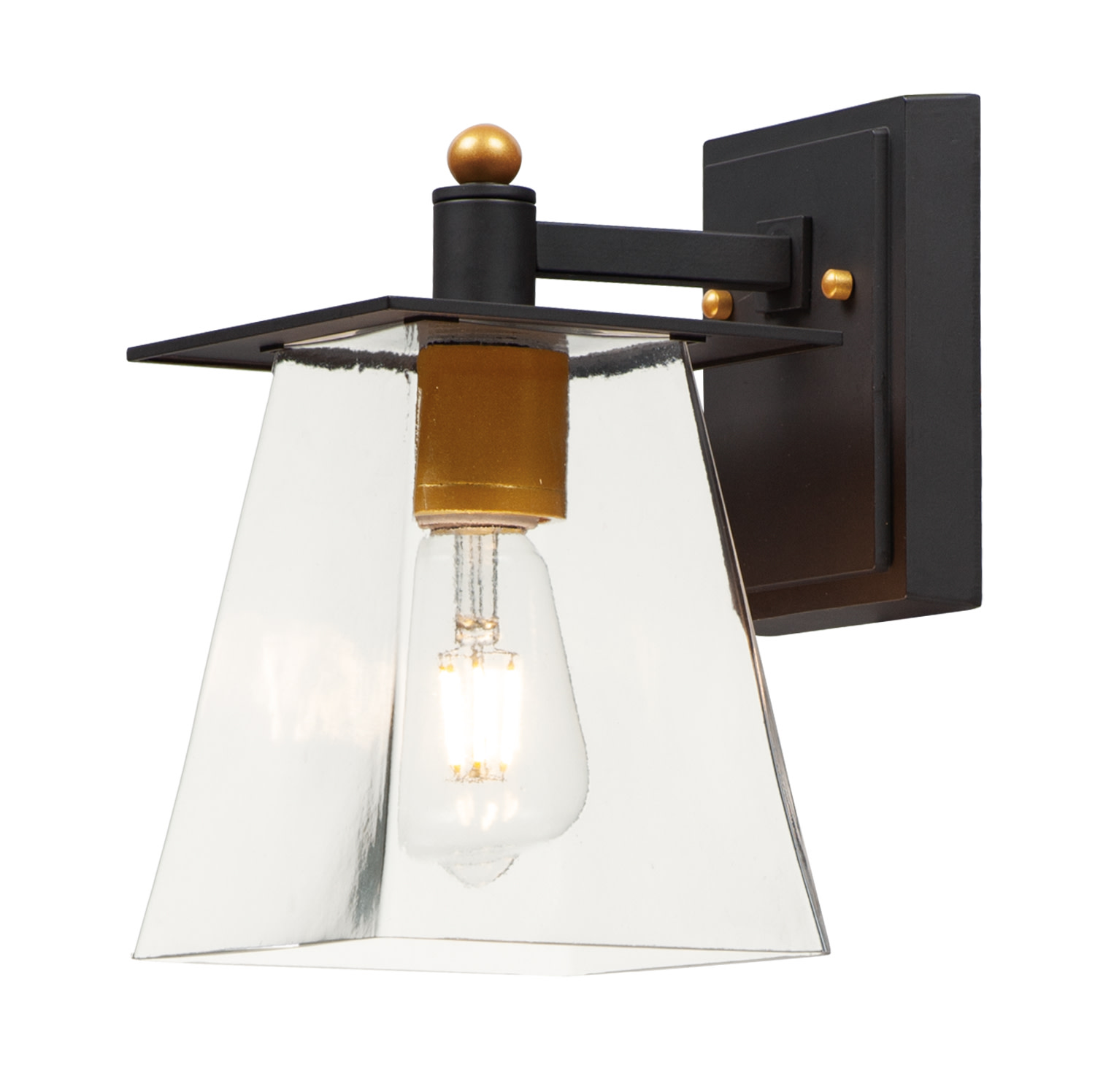 """Maxim 10312 Chalet Single Light 1"""" Tall LED Outdoor Wall Sconce"""