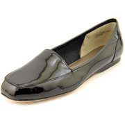 Array Freedom Women N/S Apron Toe Patent Leather Black Flats