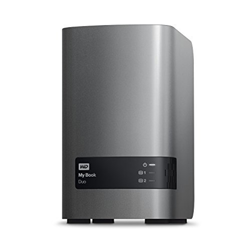 Western Digital 4TB My Book Duo USB 3.0 Dual Drive RAID Storage by Western Digital