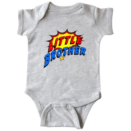 Little Brother Superhero Infant Creeper - Superhero Bodysuit