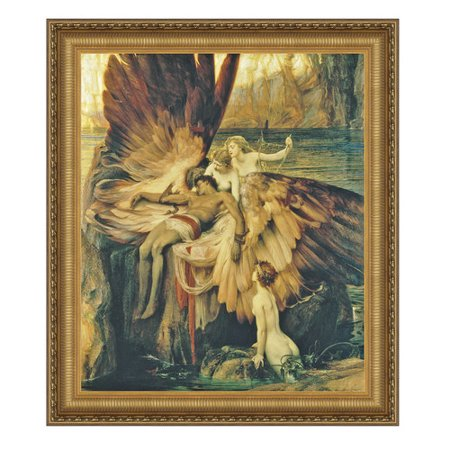 Design Toscano The Lament for Icarus, 1898 by Herbert James Draper Framed Painting Print