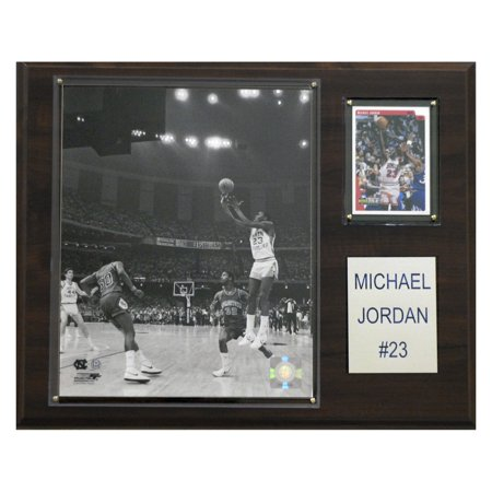 C&I Collectables NCAA Basketball 12x15 Michael Jordan North Carolina Tar Heels Player Plaque