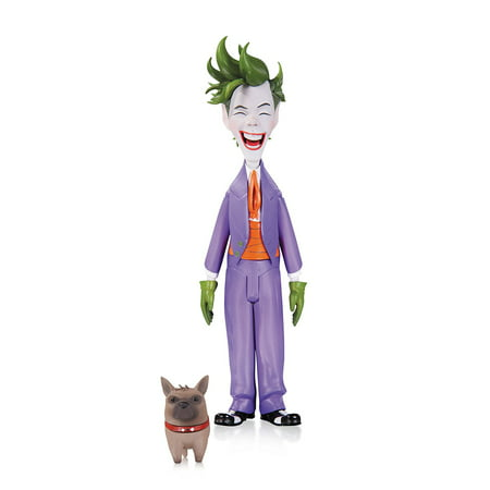 Batman: Lil Gotham: Joker Mini Action Figure, Based on the art of Dustin Nguyen By DC Collectibles - The Joker Suit For Sale