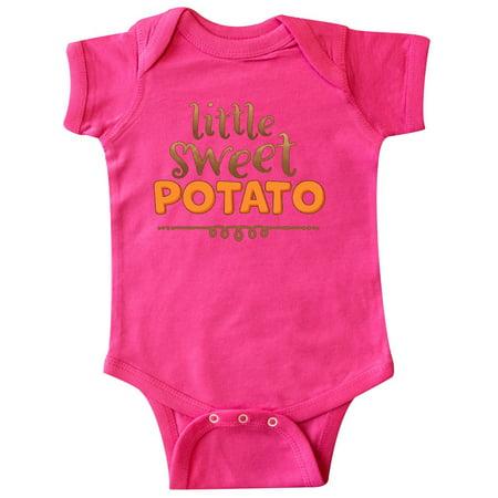 Thanksgiving Little Sweet Potato Infant Creeper (Little Bitz Sweet Potato)