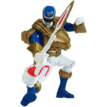 Power Rangers Deluxe Armored Ultra Mode Blue Ranger Action Figure